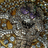 Diamond Ice Cream Skull Necklace - Hip Hop Jewelry | PrimoBling