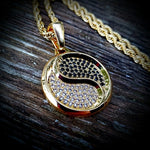 Diamond Yin Yang Necklace - Hip Hop Jewelry | PrimoBling