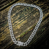Silver Iced Out Cuban Link Chain - Hip Hop Jewelry | PrimoBling