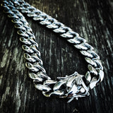 Stainless Steel 12mm Cuban Link Necklace - Hip Hop Jewelry | PrimoBling
