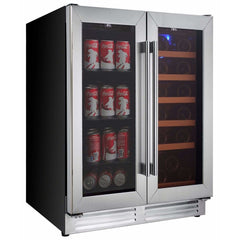 Koolatron Large Dual Zone Beverage Centre and Wine Cooler KBBC-22