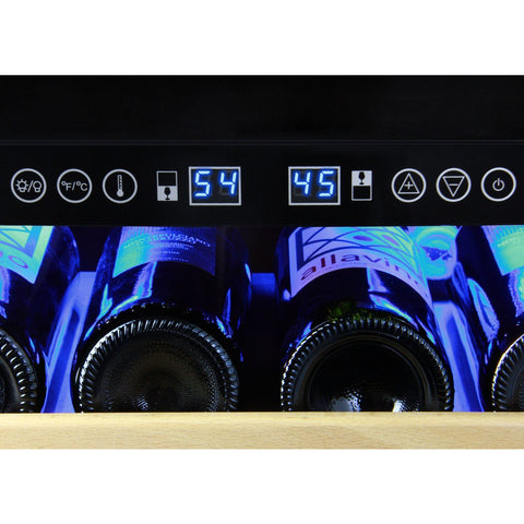 Allavino 172 Bottle Sales Dual-Zone Wine Cooler YHWR172-2SWLN