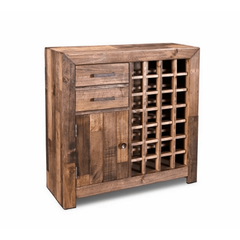 Crafters & Weavers Fulton Wine Rack & Liquor Cabinet CW8980-038