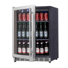 24 Inch Under Counter Beer Cooler Fridge Built In