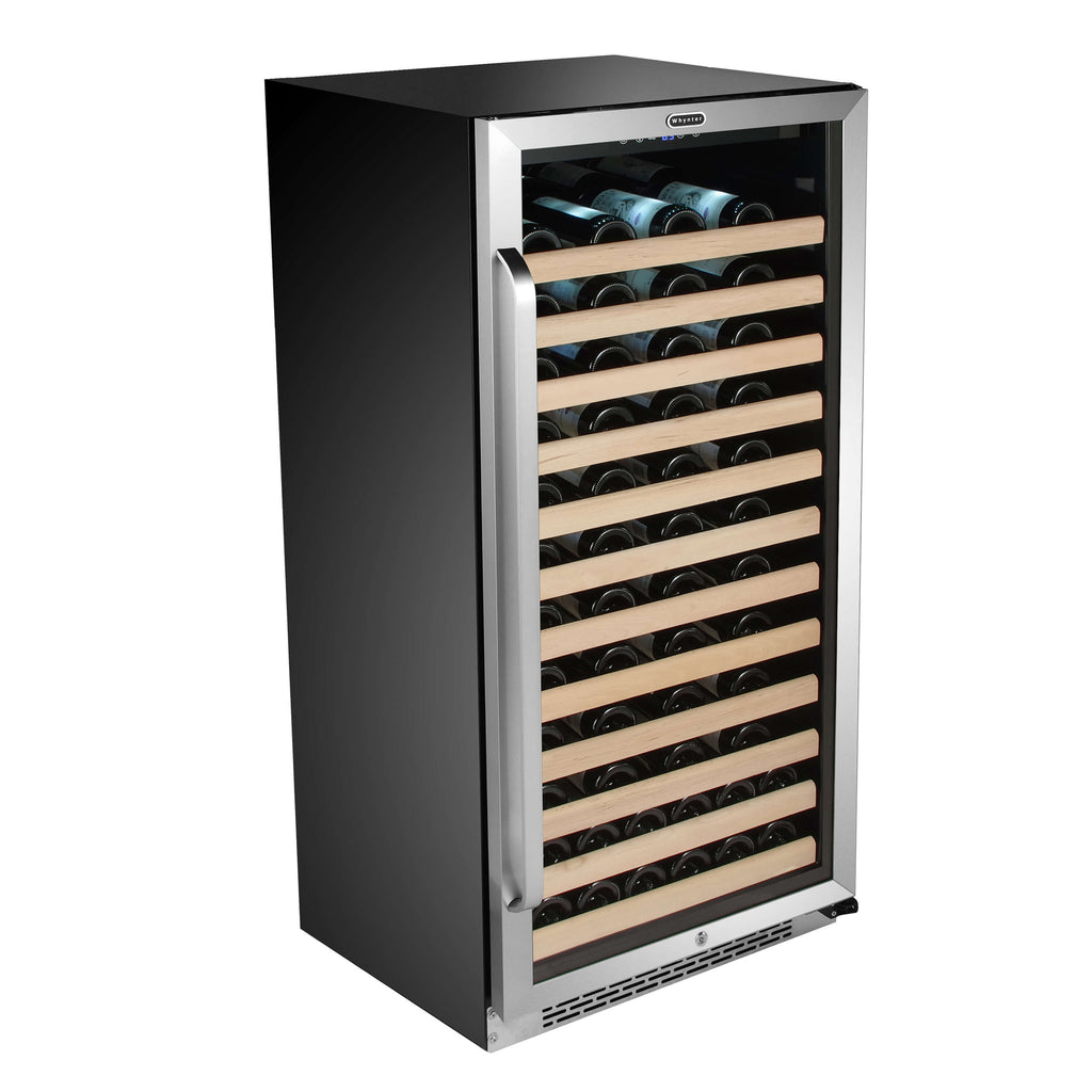 Whynter 100 Bottle Stainless Steel Wine Cooler BWR-1002SD