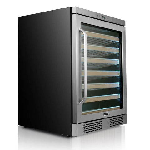 Whynter Elite Spectrum Lightshow 54 Bottle Wine Cooler BWR-545XS
