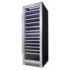 Danby Silhouette 129-Bottle Built-in Wine Cooler DWC140D1BSSPR