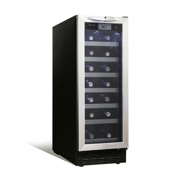 Danby Silhouette 27 Bottle Single Zone Wine Cooler DWC276BLS