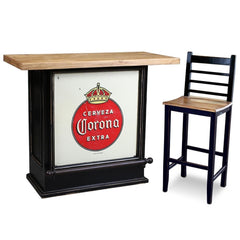 Image of Crafters & Weavers Corona Extra Cerveza Bar Table CW8045-500