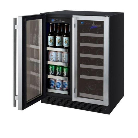 Allavino FlexCount Series Two Door Wine Refrigerator/Beverage Center VSWB-2SSFN