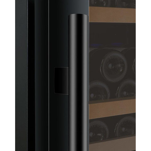 "24"" Wide FlexCount II Tru-Vino 177 Bottle Single Zone Black Right Hinge Wine Refrigerator VSWR177-1BR20"