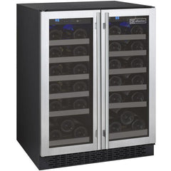 Allavino 36 Bottle FlexCount Series Dual Zone Wine Refrigerator VSWR36-2SSFN