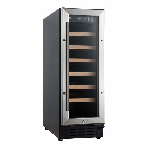 SPT (21-bottles) Under-Counter Wine & Beverage Cooler with Wooden Shelves WC-2193W