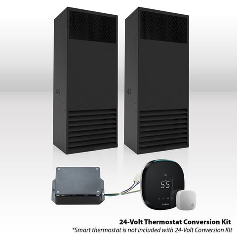 WhisperKool Ceiling Mount Twin Split Cooling System