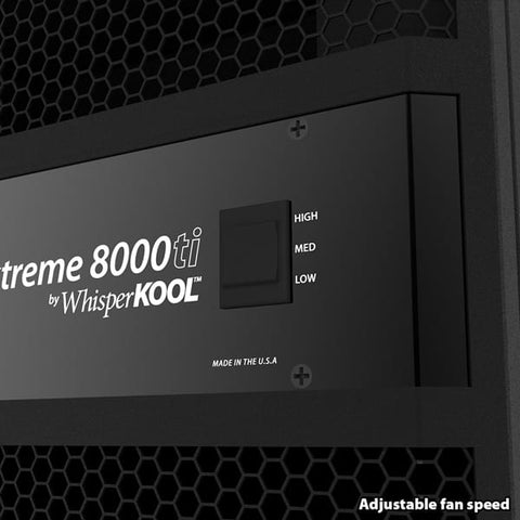 WhisperKool Extreme 8000ti Self-Contained Cooling System