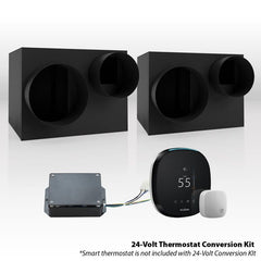 WhisperKool Platinum Twin (Fully Ducted) Split Cooling System