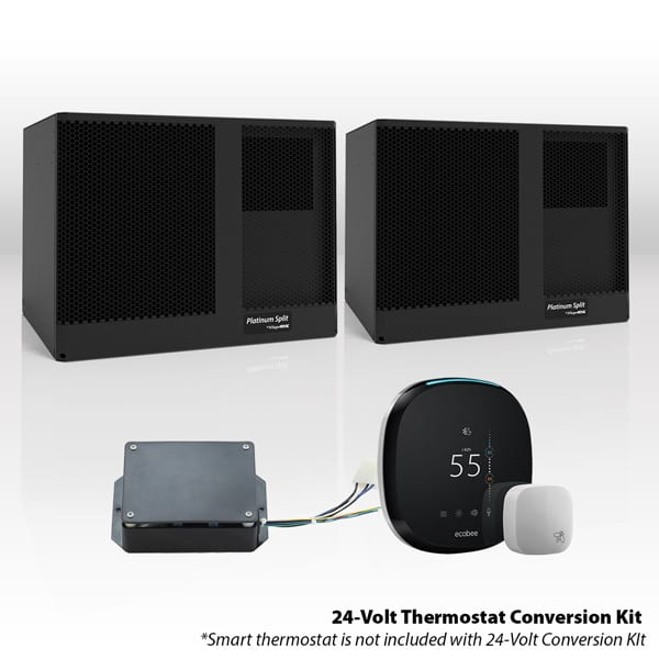 WhisperKool Platinum Twin (Wall Mounted) Split Cooling System