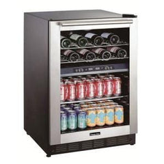 Magic Chef 24-Inch Dual Zone Wine And Beverage Wine Cooler BTWB530ST1