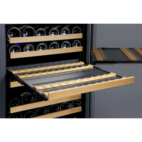 Allavino 172 Bottle FlexCount Series Dual Zone Wine Refrigerator VSWR172-2BWRN