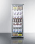 "Summit 24"" Wide Beverage Center SCR1401CSS"