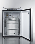 "Summit 24"" Wide Outdoor Kegerator SBC635MOS7NKHH"