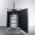 "Summit 24"" Wide Built-In Kegerator SBC677BI"