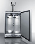 "Summit 24"" Wide Built-In Outdoor Kegerator SBC695OSTWIN"
