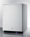 "Summit 24"" Wide Outdoor All-Freezer With Icemaker SPFF51OSCSSHHIM"