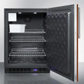 "Summit 24"" Wide Outdoor All-Freezer With Icemaker SPFF51OSIFIM"
