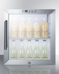 Summit Compact Built-In Beverage Center SCR215LBICSS