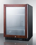 "Summit 24"" Wide Built-In Beverage Center SCR610BLPNR"
