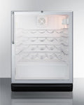 "Summit 24"" Wide Wine Cellar, ADA Compliant SWC6GBLTBADA"