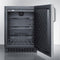 "Summit 24"" Wide Outdoor All-Refrigerator SPR627OSSSTB"