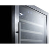 "Image of Summit 24"" Built In Dual Zone 122 Bottle Wine Cooler SWC1380D"
