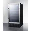 "Image of Summit 18"" Dual Zone Built In Undercounter Wine Cooler SWC182Z"