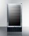 "Summit 18"" Wide Built-In Wine Cellar, ADA Compliant SWC1840BCSSADA"