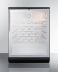 "Summit 24"" Wide Built-In Wine Cellar SWC6GBLBIHV"