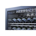 "Summit 24"" Wide Single Zone Built-In Commercial Wine Cellar SCR610BLCHCSS"