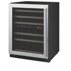 Allavino 56 Bottle FlexCount Series Dual Zone Wine Refrigerator VSWR56-2SSRN