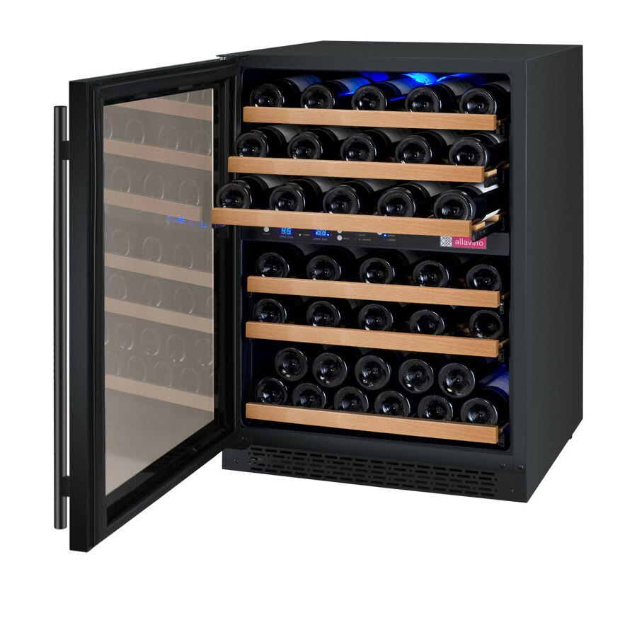 Allavino 56 Bottle FlexCount Series Dual Zone Wine Refrigerator VSWR56-2BWLN