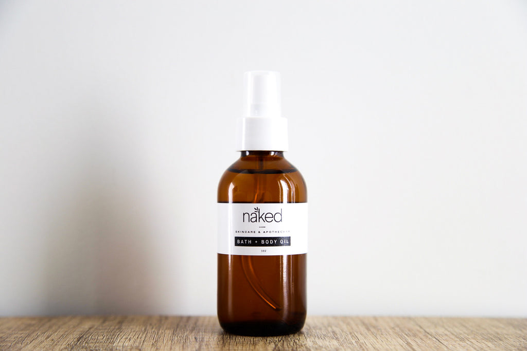 Bath + Body Oil - Naked Apothecary - Luxe Mood