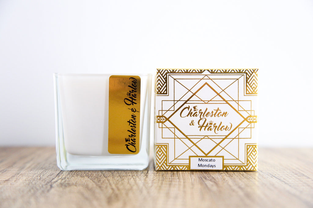Moscato Mondays Candle - Charleston & Harlow - Luxe Mood