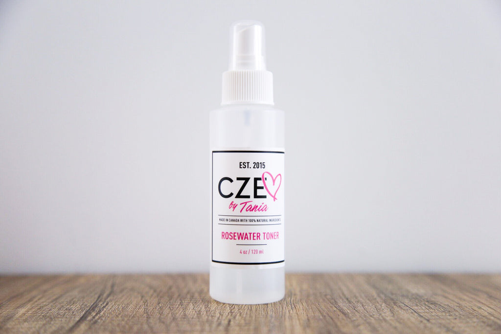 Rose Water Toner - Cze by Tania - Luxe Mood