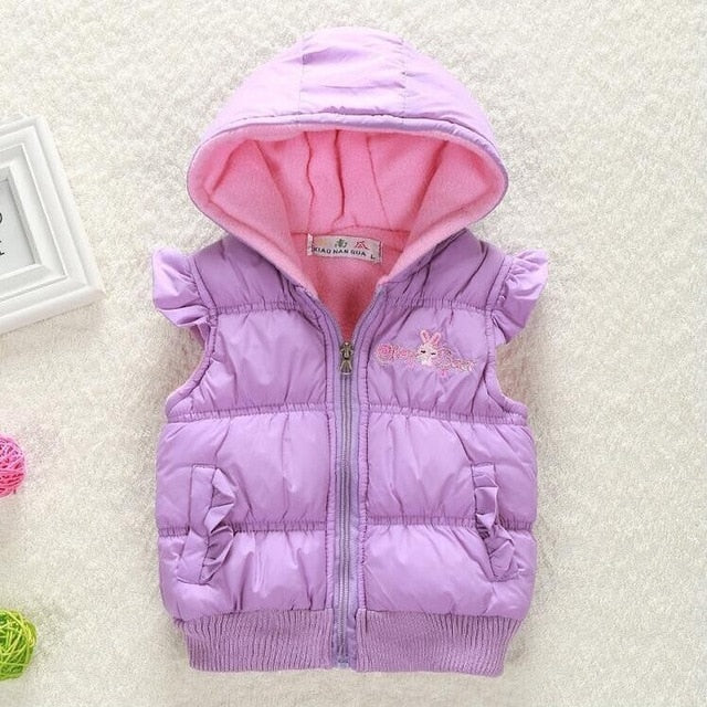 71c1d61a4 ... Load image into Gallery viewer, Big Size Baby Girls Jackets 2017 Autumn Winter  Jacket For