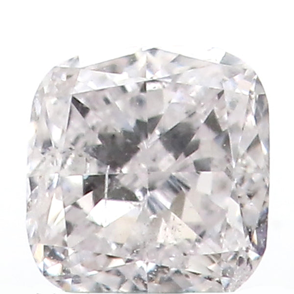 0.18 Ct Natural Loose Diamond Cushion Faint PInk Color I1 Clarity 3.50 MM L8623
