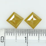 1.56 Ct Natural Loose Diamond Kite Pair Yellow Color I3 Clarity 2 Pcs L8102
