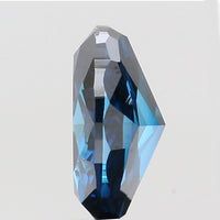 0.80 Ct Natural Loose Diamond Oval Blue Color VS Clarity 7.00 MM L8547