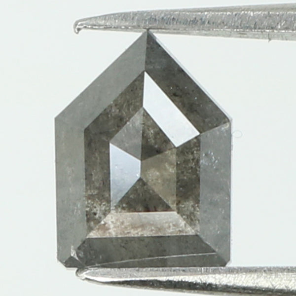 0.80 Ct Natural Loose Diamond Shield Grey Color I3 Clarity 6.75 MM L8190