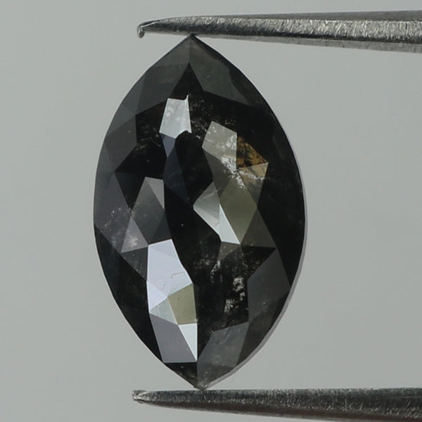 1.96 Ct Natural Loose Diamond Marquise Black Color I3 Clarity 10.00 MM KR1981