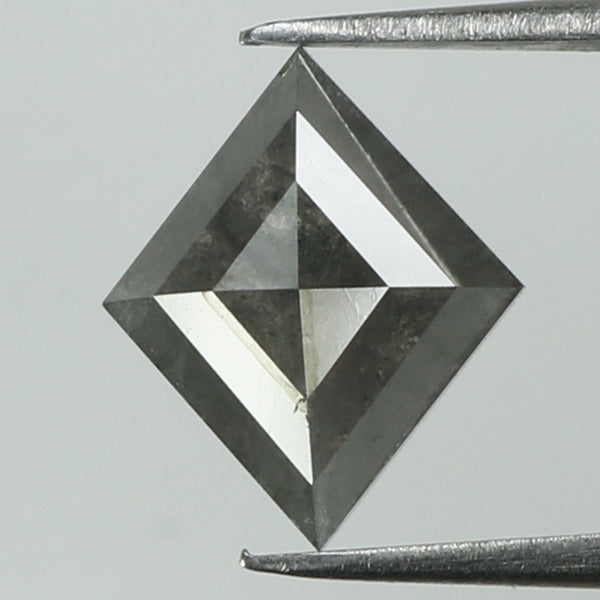 1.50 Ct Natural Loose Diamond Kite Grey Color I3 Clarity 9.60 MM KR2049